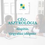 Nóra Asztrológia cégalapítás